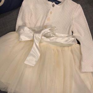 Ralph Lauren baby girl skirt and top